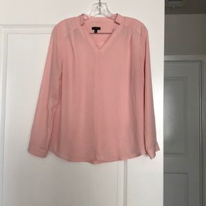 100% Polyester long sleeve blouse